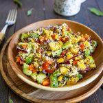 Recette de salade de quinoa à la mangue