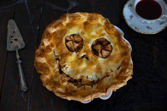 Recette de tourte aux pommes pour Halloween