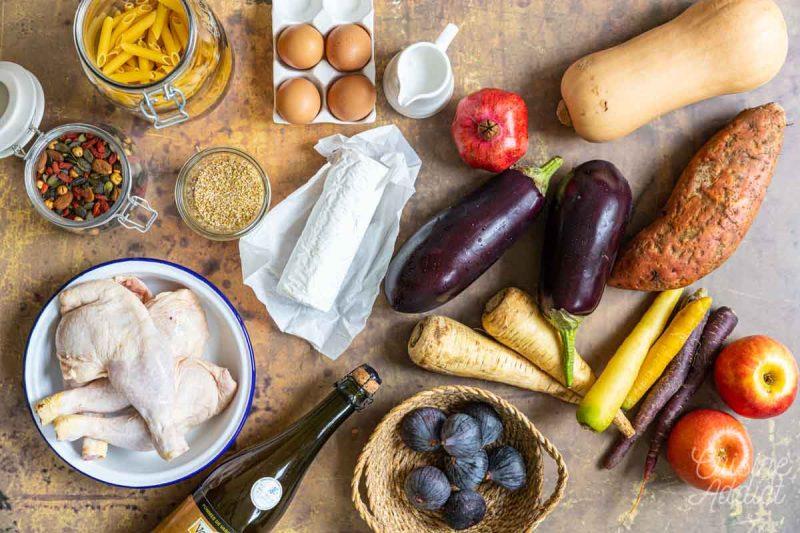 Batch cooking Automne 3 2021 - Ingrédients