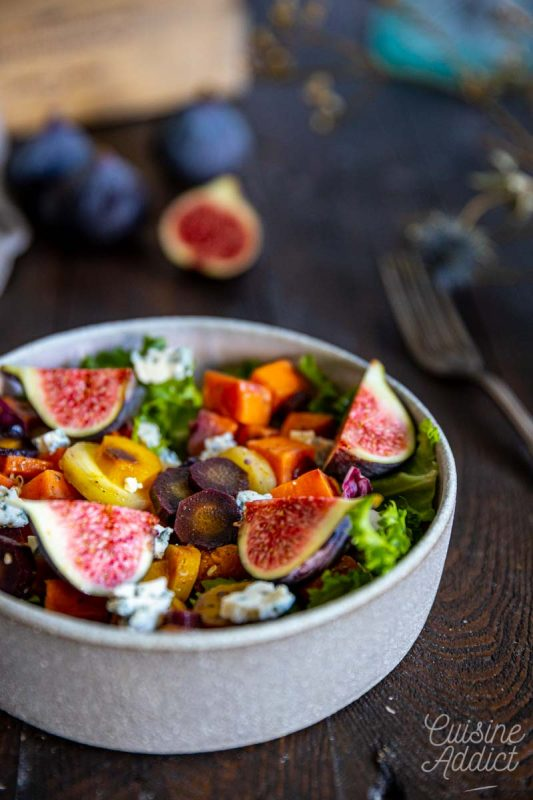 Salade automnale aux figues